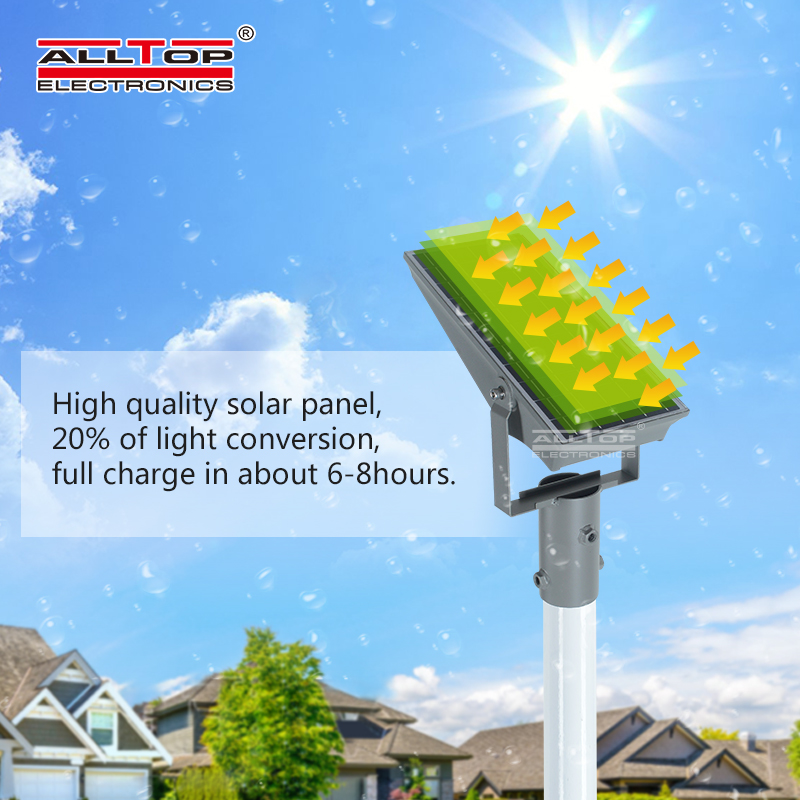 ALLTOP Outdoor Lighting Solar Led Flood Light