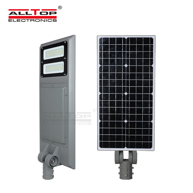 ALLTOP Energy Saving High Lumen Integrated Outdoor Adjustable Angle 30W 60W 90W Solar Led Street Light